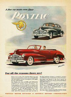 1948 Pontiac Torpedo Convertible & Streamliner 4-Door Sedan | Flickr - Photo Sharing!