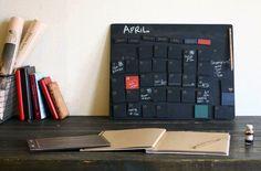 万年カレンダー黒板ボード 黒板マグネット42個セット