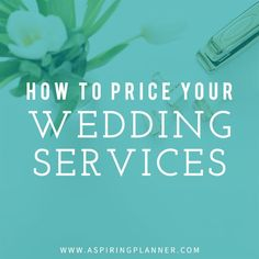 Wedding Planning How to Price Your Wedding Services from the Wedding Planner Collective :: Resources for Wedding Planners The Plan, How To Plan, Wedding Services, Wedding Coordinator, Wedding Events, Wedding Catering, Wedding Dinner, Wedding Reception, Wedding Planner Office