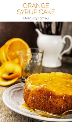 Orange Syrup Cake - this beautifully sweet, perfectly moist cake is delicious. Add this recipe to your favourites now, because it belongs there.
