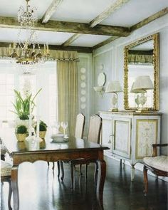 Dining room by Dan Carithers - so classic, timeless and beautiful