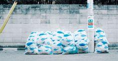 Garbage Bag Art Work