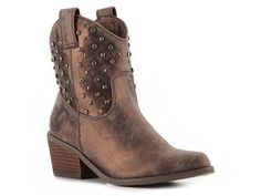 Gomax Cowboy-03 Western Boot Moto Style Fall Favorites Women's Shoes - DSW