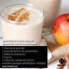 Smoothies rápidos para desayunar - Vida InstaFit