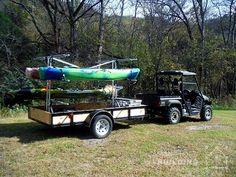 Build Your Own Kayak Trailer: No Welding or Cutting Required  #KeeKlamp #DIY #kayak #trailer