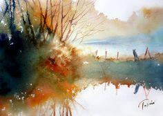 Jean Claude Papeix Fall landscape