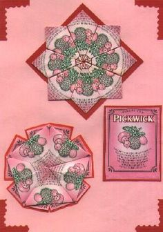 tea bag folding instructions - wonderful tutorial for many folding techniques from Jill Britton - lots of great photos