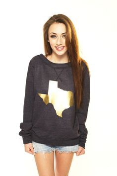 Limited Edition Gold Texas Sweater-want this for MN