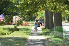 Bike Rides through neighborhoods!