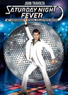 Available in: DVD.John Travolta graduated from minor celebrity to superstar with Saturday Night Fever. Travolta plays Tony Manero, a Brooklyn John Travolta, Disco Party, Film Movie, Kool & The Gang, Look Disco, Film Streaming Vf, Cartoon Photo, 70s Music, The Good Old Days