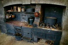 Real functioning primitive kitchen..still