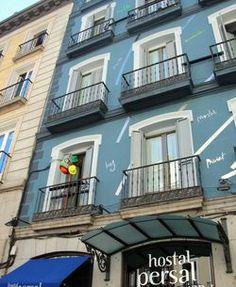 Hostal Madrid con decoración