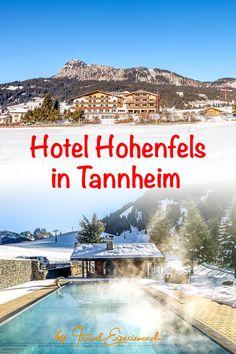 Das Geniesserhotel Hohenfels im Tannheimer Tal ist ein idealer Ort für Skifahrer, Langläufer, Spaziergänger und Freunde hochstehender Gourmetgastronomie. Tirol ist eben immer für eine Auszeit gut... Hotels, Beach, Movie Posters, Outdoor, Fine Dining, Skiers, Time Out, Explore, Fresh