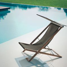 Deck-chair Orson designed by Gordon Guillau by Roda #designbest