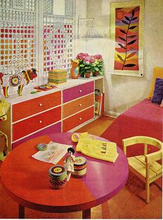 1970s decor for kids