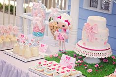 """Photo 4 of 17: Lalaloopsy Party / Baptism """"Paige's Lalaloopsy Baptism Morning Tea """" 
