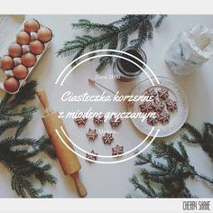 Cherry Shake: Ciasteczka korzenne z miodem gryczanym - smak Świą...