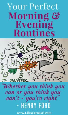 Perfect Your Morning & Evening Routine to Reset Your Life   The perfect routine for adults, moms, teens & kids!