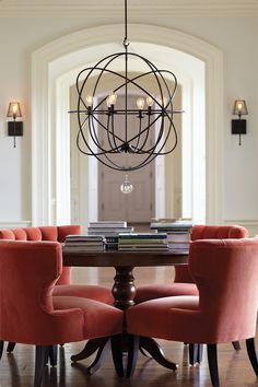 How to Select the Right Size Dining Room Chandelier