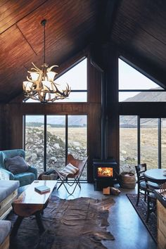 It's hard to imagine a more secluded place for a romantic home for two than this incredibly cozy cabin in New Zealand. The cottage is lost in the middle ✌Pufikhomes - source of home inspiration