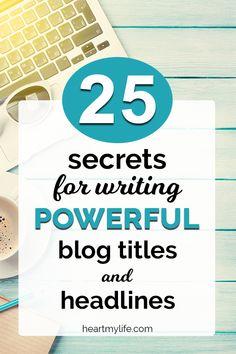Write powerful blog