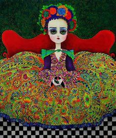 Joan Alfaro es un reconocido Artista Plástico Peruano de gran trayectoria que plasma elementos andinos desde una visión surrealista.