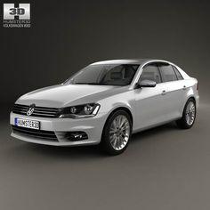Volkswagen Bora (CN) 2012 3d model from humster3d.com. Price: $75
