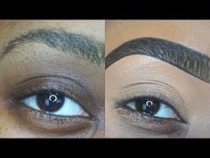 Perfect Eyebrows Made Easy With Semi Permanent Make Up Eyebrow Makeup Products, Best Eyebrow Makeup, Eye Makeup Art, Makeup Tips, Tweezing Eyebrows, Threading Eyebrows, Eyebrow Tutorial, Perfect Eyebrows, Beauty Hacks