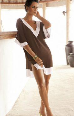 Beach chic tunic ... Love this !