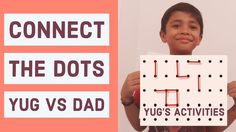Connect The Dots Indoor Games For Kids, Activities For Kids, Connect The Dots Game, Activity Games, Connection, Children Activities, Kid Activities, Petite Section, Kid Crafts