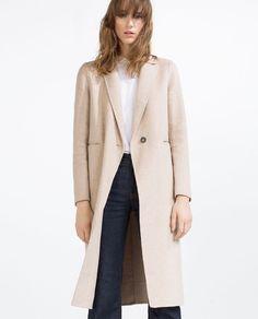 HAND MADE MASCULINE COAT from Zara