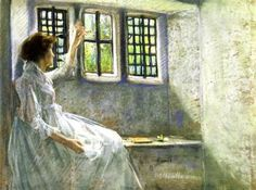The Window Seat - Julian Alden Weir - The Athenaeum