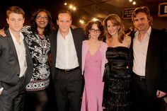 Embeth Davidtz, Amy Adams, Angus MacLachlan, Phil Morrison, Celia Weston, and Ben McKenzie at Junebug (2005)