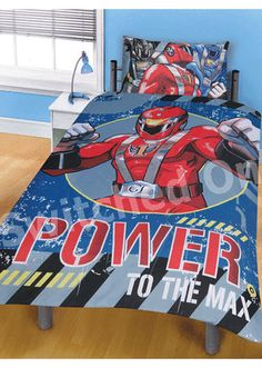 Childrens Kids Power Rangers Mystic Force Bedding Duvet