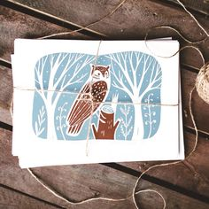 This linoprint is now available in our etsy shop. I'm so confused 'cause I wanted to draw barn owl but sometimes I don't care about reality, so the friend of mine told me that I've made a mistake and barn owls never have ears. 😓 Whatever, it's owl, and I would be glad to hear any ideas about its species😊