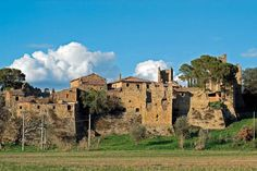 Le rovine del castello di Zocco