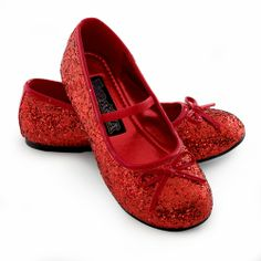 Girls Dorothy Ruby Slippers