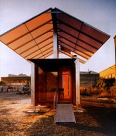 Community Action Space: Shipping Container Architecture