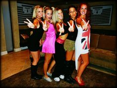 spice girls halloween costume contest at costume british invasion party costume. Black Bedroom Furniture Sets. Home Design Ideas