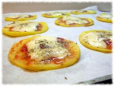 La cucina di Federica: Pizzette di polenta speedy