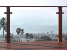 glass rail panels