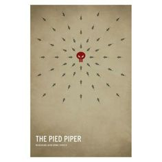 The Pied Piper Unframed Wall Canvas