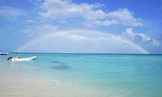 Riviera Maya photo of the day - full rainbow over the ocean