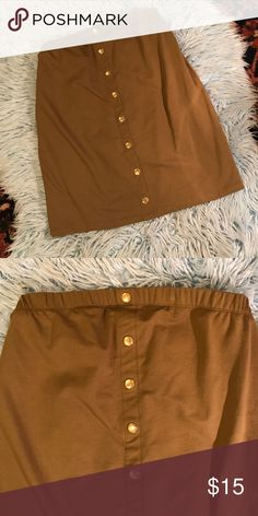 NWT ASOS high waisted maternity skirt High waisted olive green maternity skirt never worn. 96% cotton 4% elastane ASOS Maternity Skirts Pencil