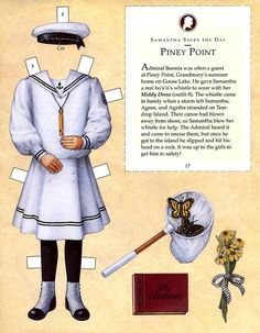 Living A Doll's Life : American girl Paper dolls