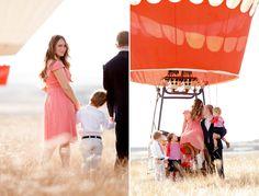 Amazing hot air balloon photo shoot found via designmom  Ashlee Raubach Photography: The Kandell Family 2012