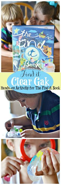 The Find it Book and Hands-on Activity for Kids