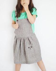156f48cd9c4 KCW Summer 2013  Apron Dress + Puff-sleeve Knit Top