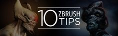 10 professional tips and time savers in ZBrush