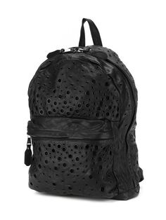 Giorgio Brato eyelet perforated backpack
